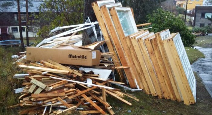 Bygningsavfall
