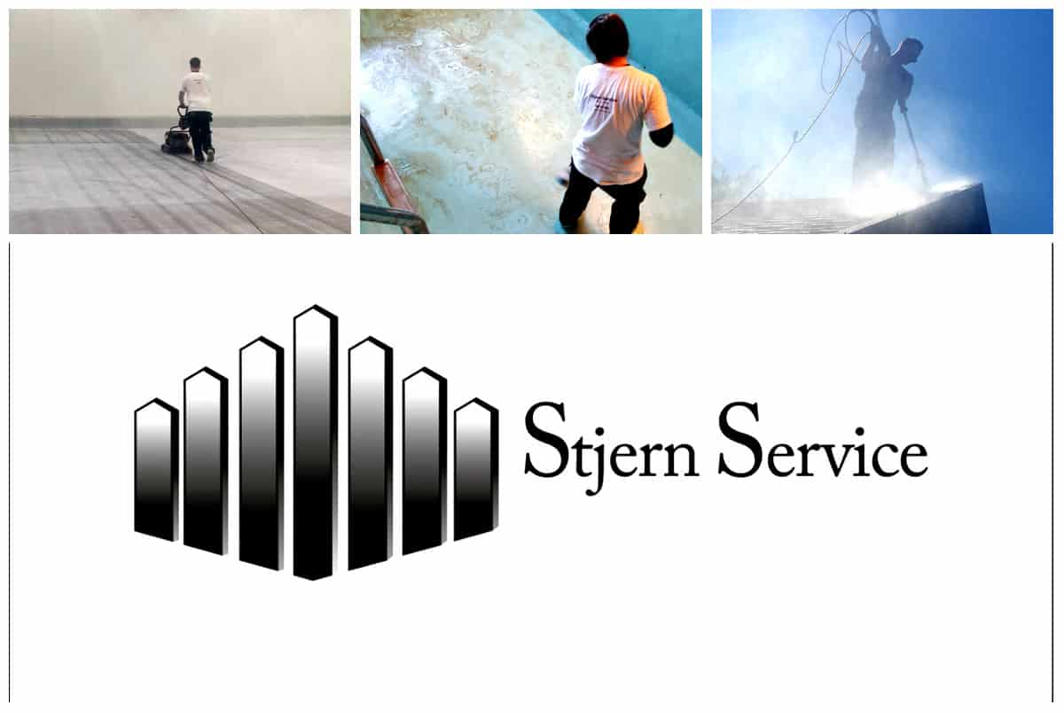 Logo For Stjern Renhold Service